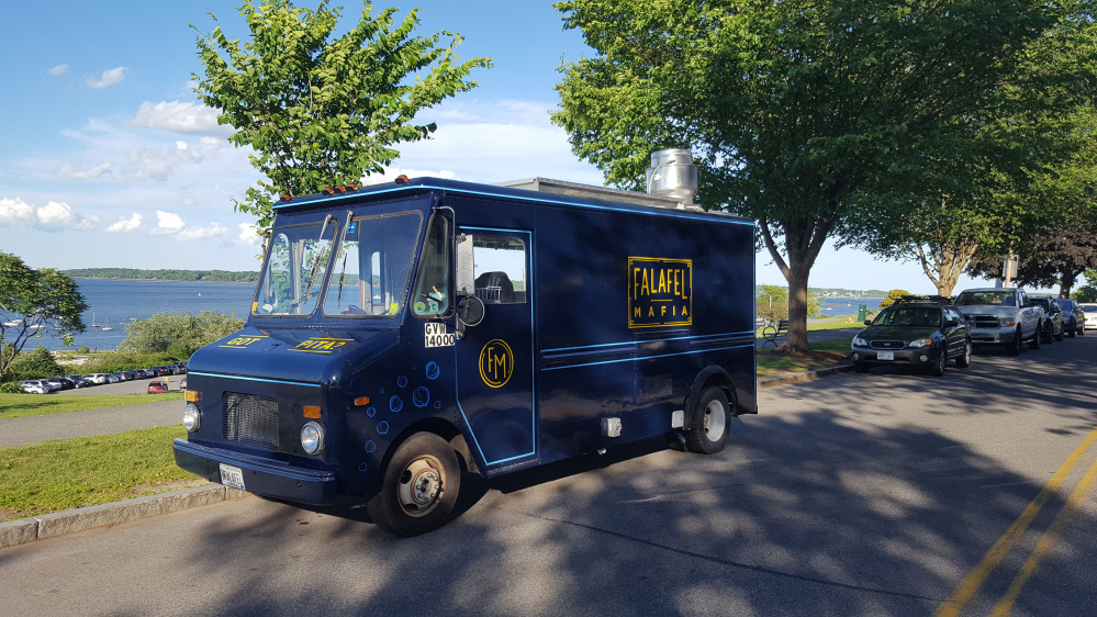 Known for serving falafel at the Common Ground Fair and other festivals, the Gardner family launched the Falafel Mafia food truck last month. The truck offers a variety of falafel and gyro dishes, and the falafel menu is all vegan.