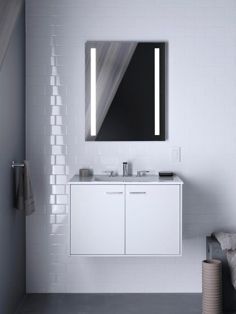 How to light a bathroom for beauty, function, and safety