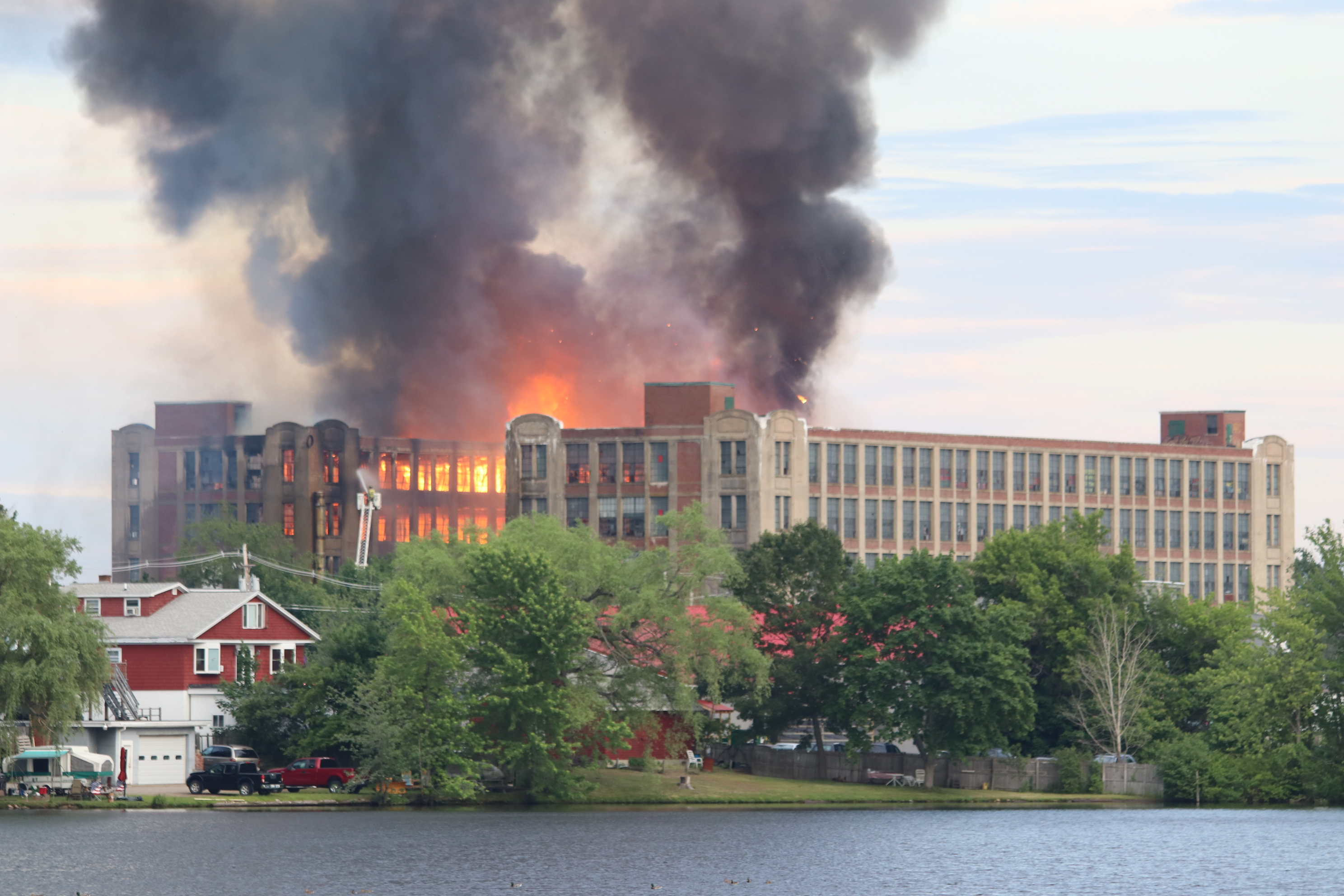 The three boys charged with arson in connection with the Stenton Trust mill fire June 23 will undergo evaluations before their next court appearances in October, a judge said during their appearances on Thursday. TAMMY WELLS/Journal Tribune file photo