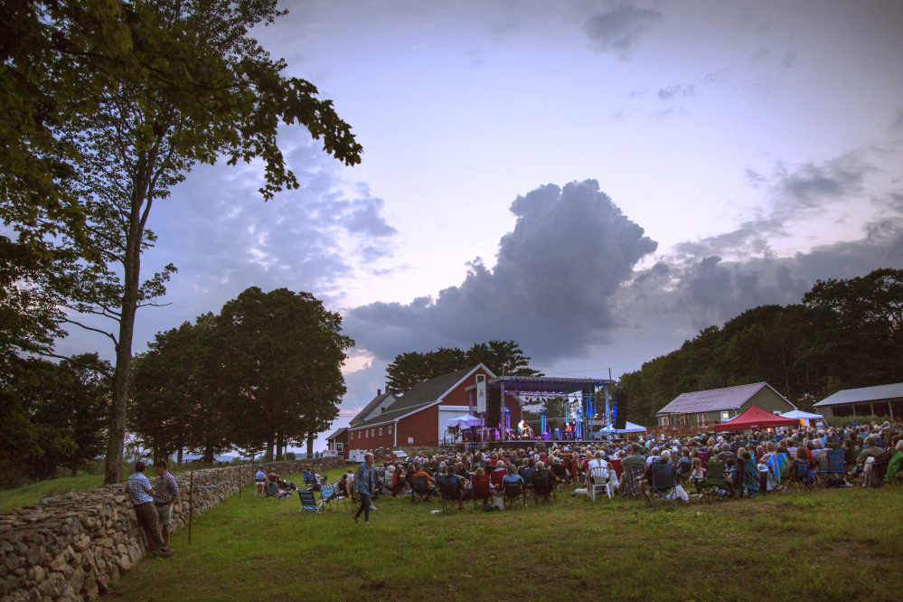 Singer-songwriter Graham Nash performs for a crowd of about 1,000 at Savage Oakes Vineyard and Winery, where Lyle Lovett and his Large Band will appear Aug. 13. Blues act The Marcus King Band and folk-rock singer James McMurtry also are scheduled, on Sept. 1 and 2, respectively.