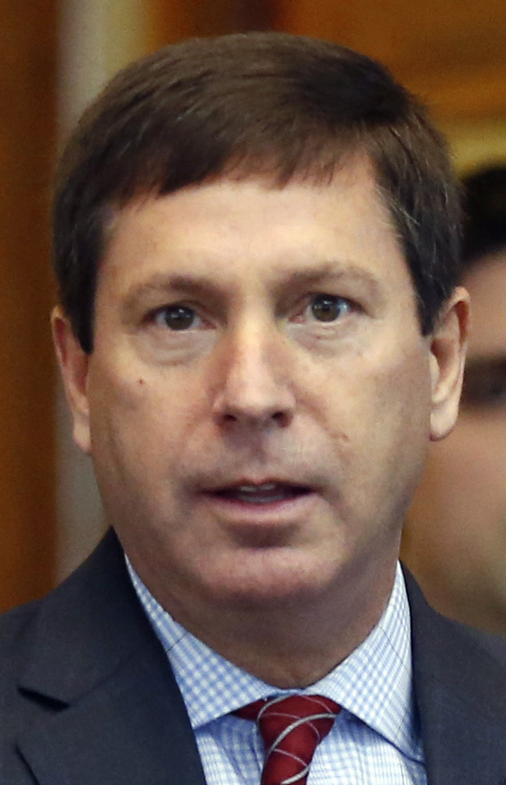 House Minority Leader Ken Fredette, R-Newport, is a staunch ally of Gov. Paul LePage and serves in the Maine Air National Guard.