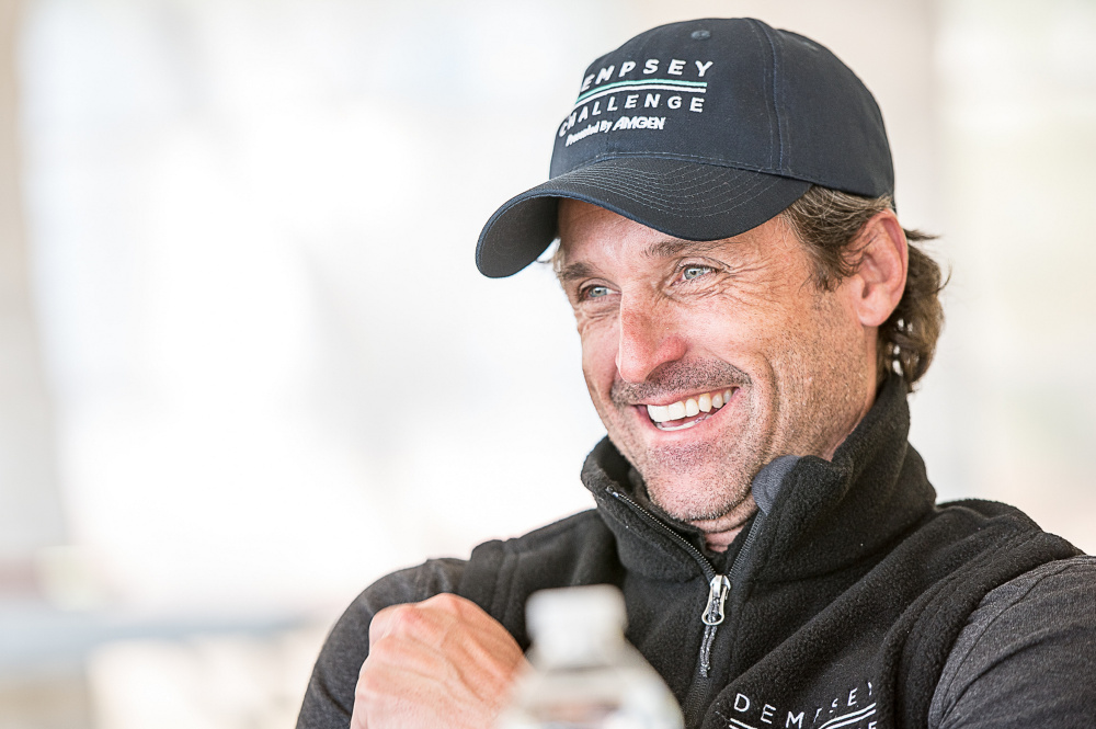 The Dempsey Challenge raises funds for a cancer care center in Lewiston named for Buckfield native Patrick Dempsey,