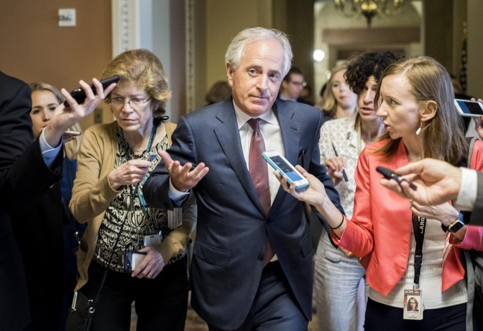"""Sen. Bob Corker, R-Tenn., said Sunday """"the White House has become an adult day care center."""""""