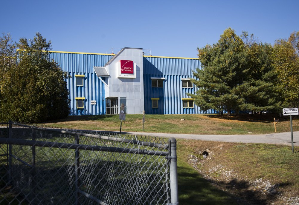 Owens Corning in Brunswick makes materials for the wind industry. The company started as Brunswick Technologies in 1984 and was acquired by a French firm in the 1990s.