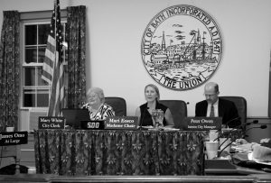 THE BATH CITY COUNCIL dealt with a number of issues at their Wednesday meeting, including authorization to purchase property on Willow Street.