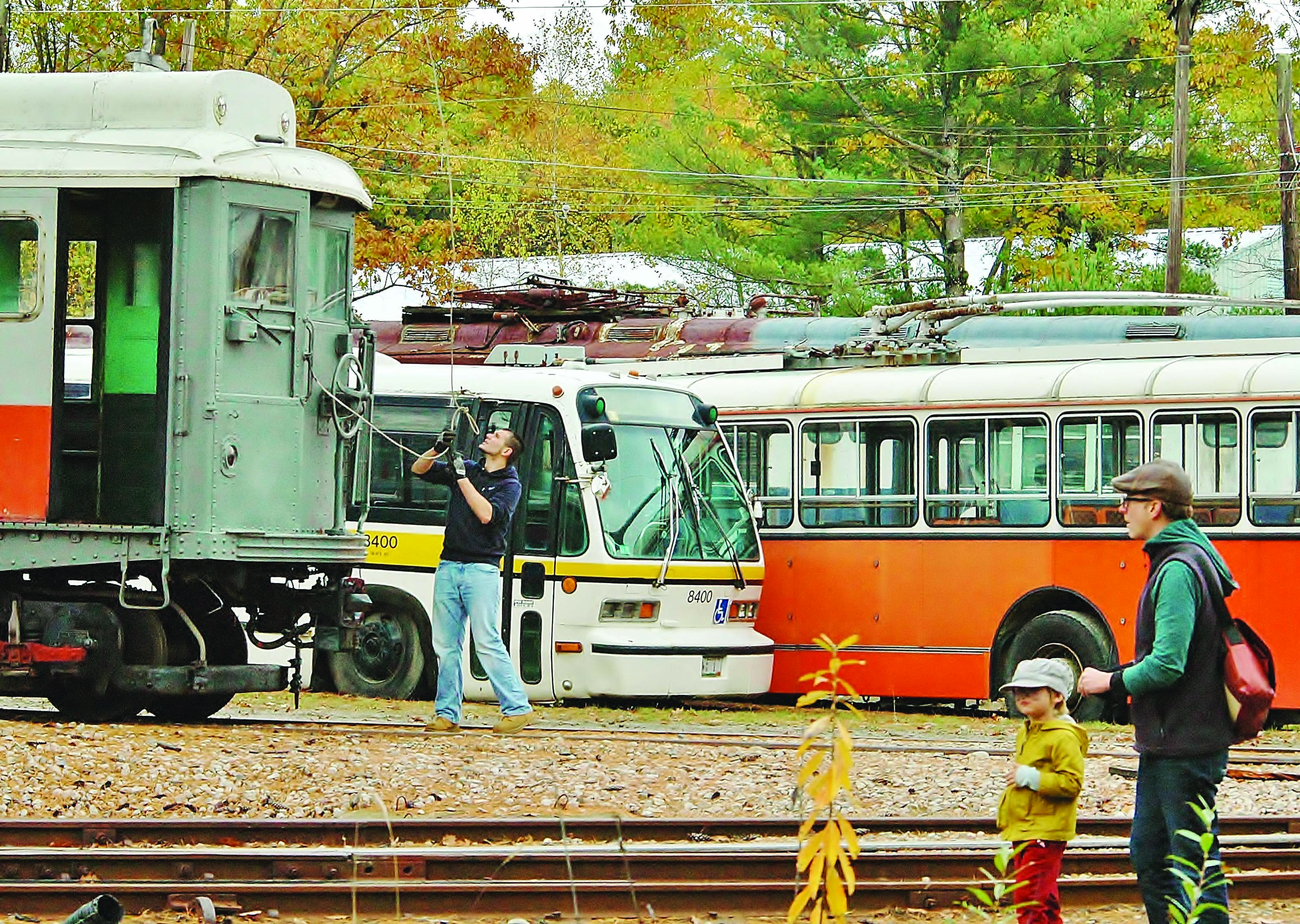The Seashore Trolley Museum will host a groundbreaking ceremony at 11 a.m. Oct. 12 for its Fairview Carbarn Expansion Project at 195 Log Cabin Road in Kennebunkport. SUBMITTED PHOTO