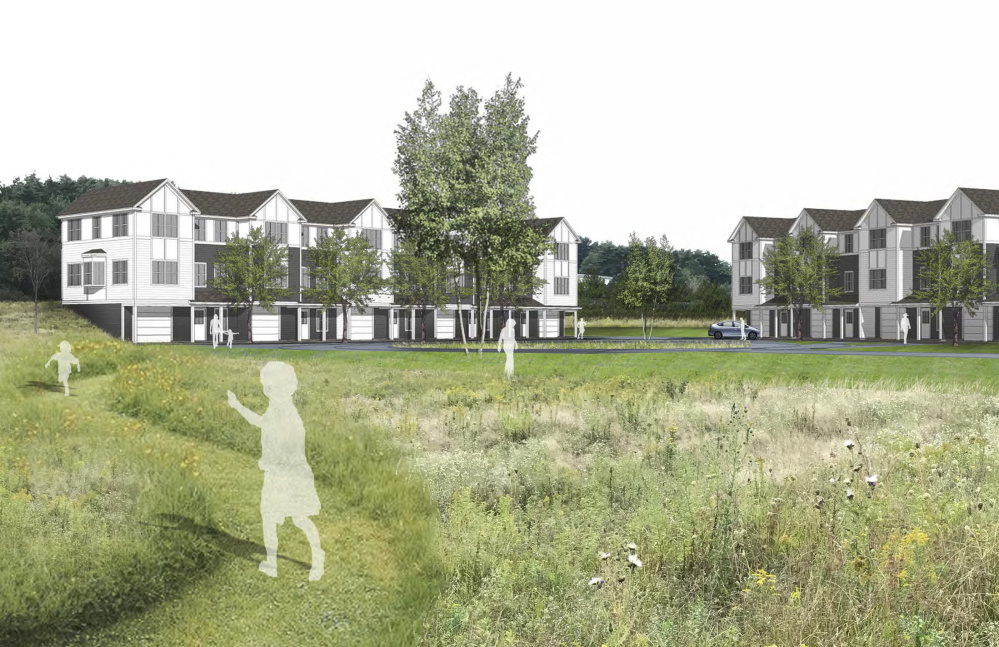 """The Portland Planning Board on Tuesday unanimously approved over 120 units of housing on a 55-acre parcel at 1700 Westbrook St. known as Camelot Farm. The approvals for """"Stroudwater Preserve"""" include a subdivision plan for 98 single-family homes, as well as site plan approval for 25 townhouses near Interstate 95."""