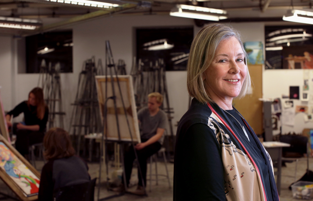 """I can think of nothing more important than investing in our artists of tomorrow,"" said Maine College of Art President Laura Freid, who is working on improving housing availability and scholarship opportunities for MECA students."