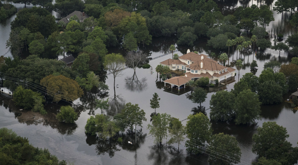 The severe Gulf Coast floods that sent Houston residents fleeing may now happen once every 800 years instead of every 24 centuries, according to some climate scientists at the fall meeting of the American Geophysical Union.
