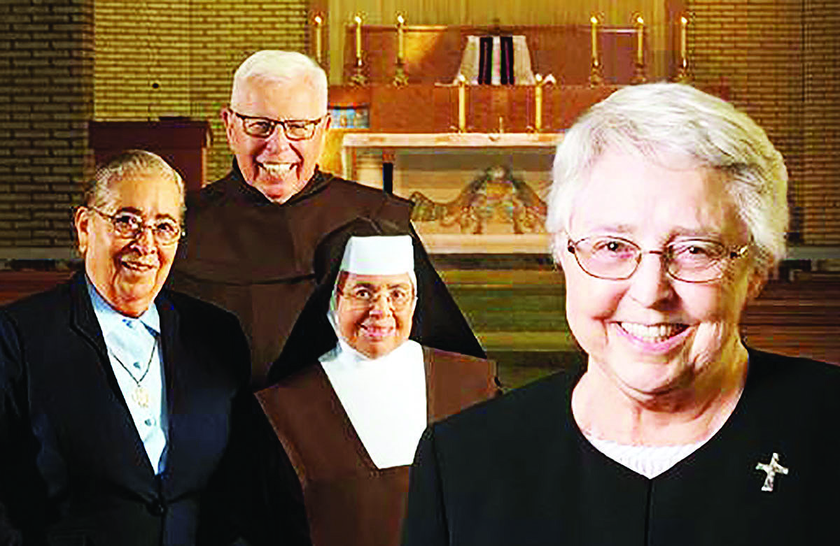 Catholics attending Mass this weekend at churches in Good Shepherd Parish will be able to donate during a special collection to benefit elderly Catholic sisters, brothers and religious order priests. COURTESY PHOTO/Good Shepherd Parish