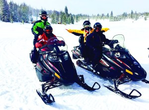 According to the Maine Department of Inland Fisheries and Wildlife, snowmobile riders heading out on the trail should have a plan and be prepared for the onset of challenging winter conditions at a moment's notice. FILE PHOTO