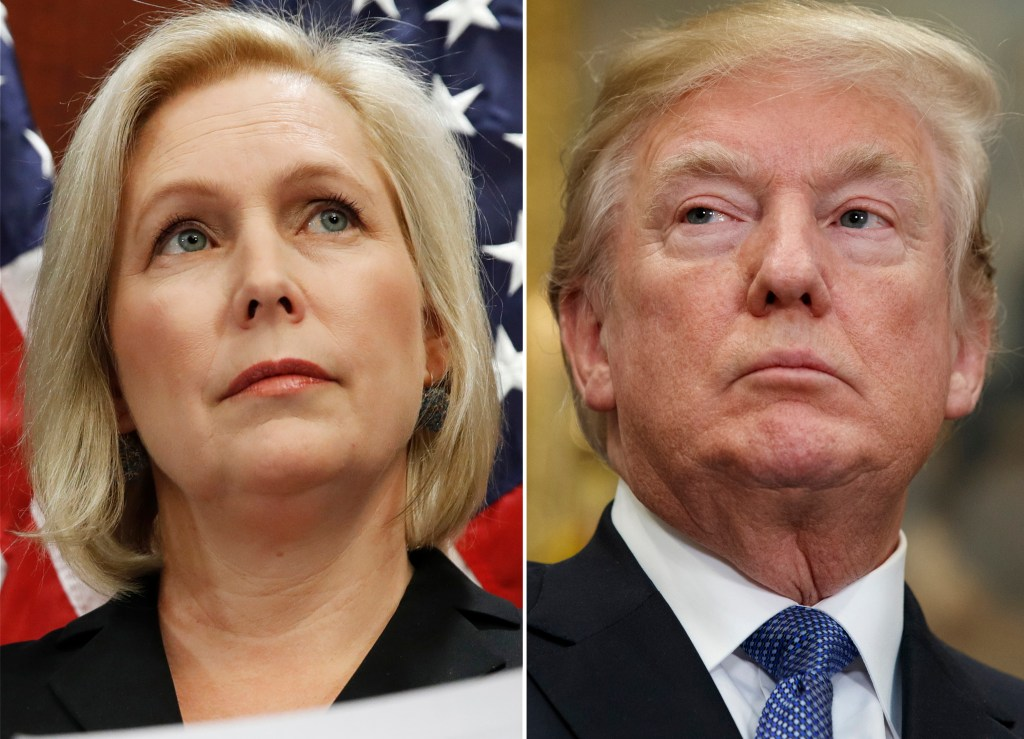 "Sen. Kirsten Gillibrand, D-N.Y., calls for a congressional investigation into allegations of sexual misconduct against the president, because its ""the right thing to do."""