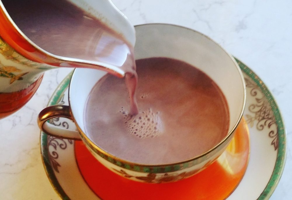 The drinking chocolate from Bixby and Co. in Rockland is real chocolate, sometimes prepared with spice. It's not the cocoa powder, sugar and powdered milk blend you're used to.