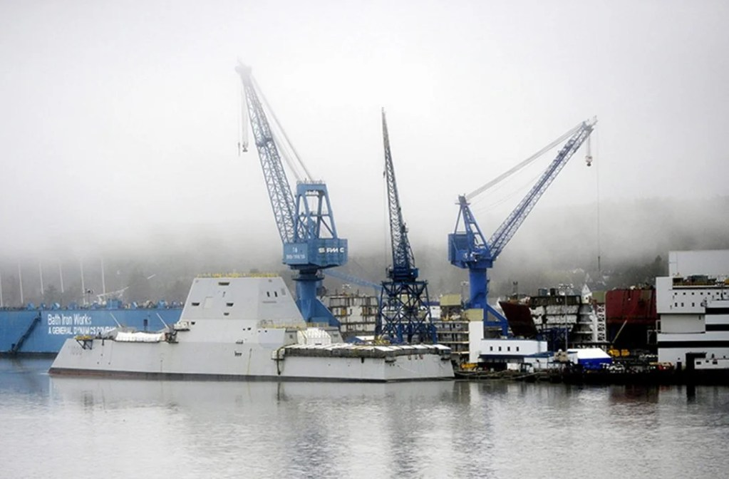Bath Iron Works says it has invested more than $500 million in the shipyard since 1996.
