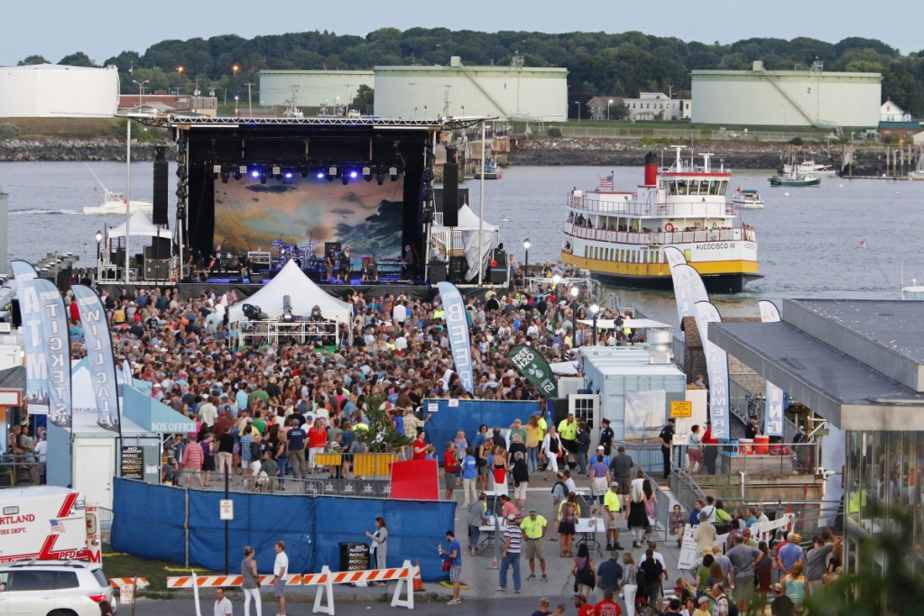 The number of noise complaints related to concerts on the Maine State Pier has steadily risen over the years, though decibel readings taken on site indicate that the venue rarely exceeds the 92 decibel limit outlined in the city code – a sound limit equivalent to a power mower.