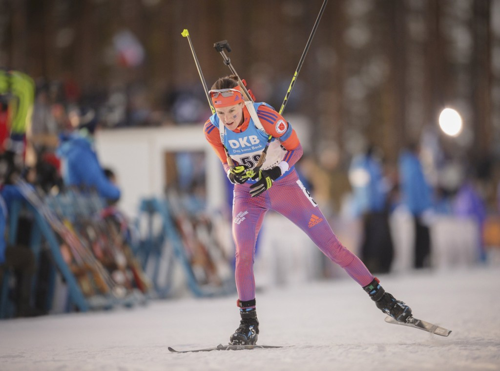 Clare Egan arrived in South Korea after a 10-day quarrantine from the rest of the U.S. team because of illness. 'I still may do okay, but I don't think there's any chance I'll be skiing my best,' she wrote.