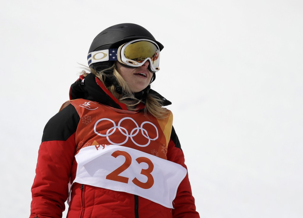 Elizabeth Marian Swaney skis for Hungary despite being an American.