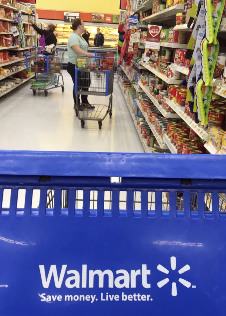 Some positives for Walmart: It had higher customer traffic and better-than-expected sales at its established stores.
