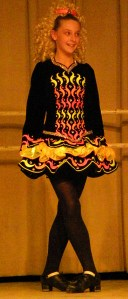 A dancer from the  Stillson School of Irish Dance, who will perform Irish stepdances in at the Dunaway Center, 23 School Street in Ogunquit, Maine,  Saturday evening March 10, 2018 at 6:30 pm to celebrate St. Patrick's Day. Admission: $5.00 payable at the door. SUBMITTED PHOTO