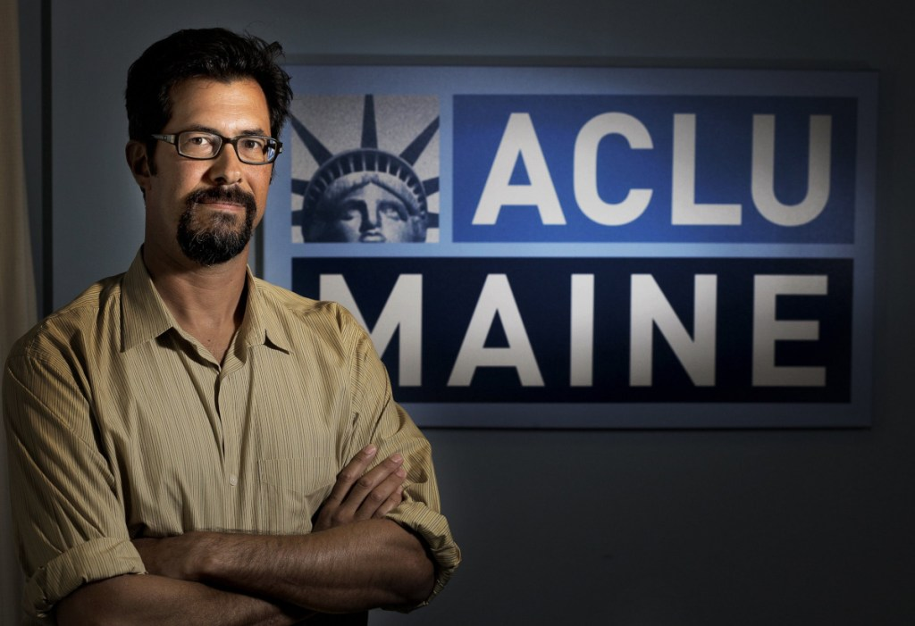 "Zachary Heiden, legal director at the ACLU of Maine, said, ""We've helped defend this law four times already, and we hope to do so again."""