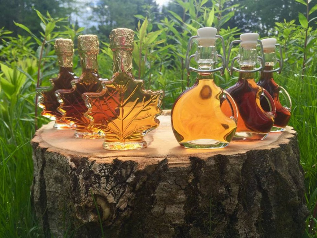 Six employees, all members of the Passamaquoddy tribe, have been hired to run its maple syrup operation, plus six tribal tappers who work seasonally. The syrups are golden, amber, dark or very dark. They are marketed in traditional bottles with maple leaves, moose and other designs in relief.