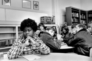 THIS UNDATED file photo, location unknown, shows Linda Brown. Brown, the Kansas girl at the center of the 1954 U.S. Supreme Court ruling that struck down racial segregation in schools, died Sunday at age 75.
