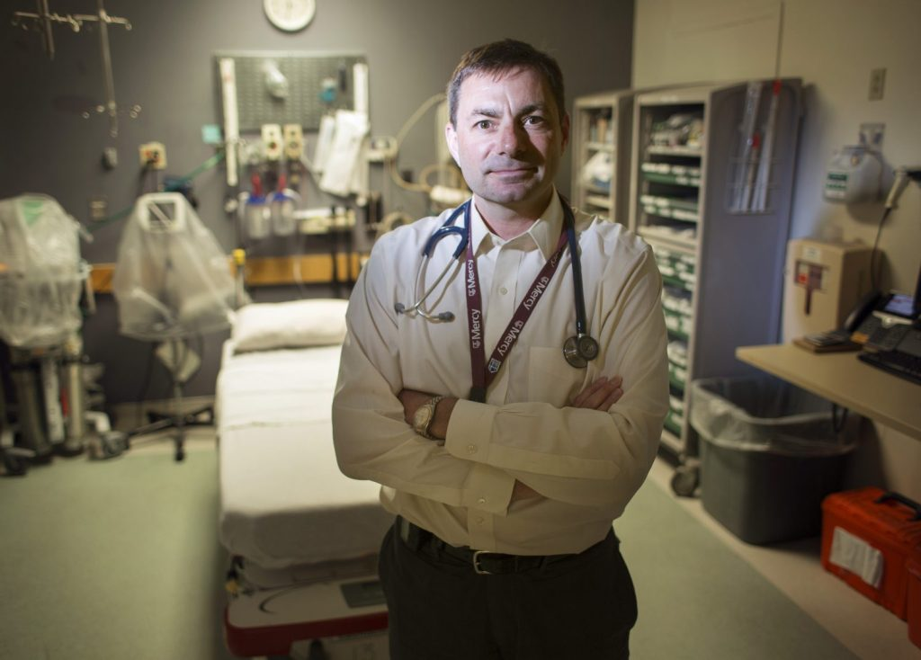 Dr. John Southall, director of Mercy Hospital's Emergency Department, said that in the past six months, any patient who has shown up at the emergency department after overdosing has been given access to treatment programs.