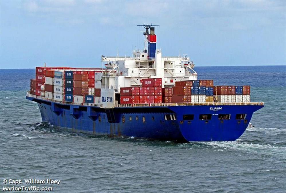 The 790-foot freighter El Faro was bound for Puerto Rico from Jacksonville, Fla., when it sank during Hurricane Joaquin on Oct. 1, 2015. An NTSB investigation led to 53 recommendations that the board hopes will improve maritime safety and prevent a future tragedy.