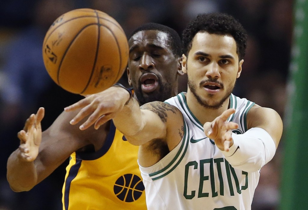 Boston guard Shane Larkin said he has gotten better on defense with age and that he realized, eventually, that playing shut-down defense would keep him in the league for a long time.