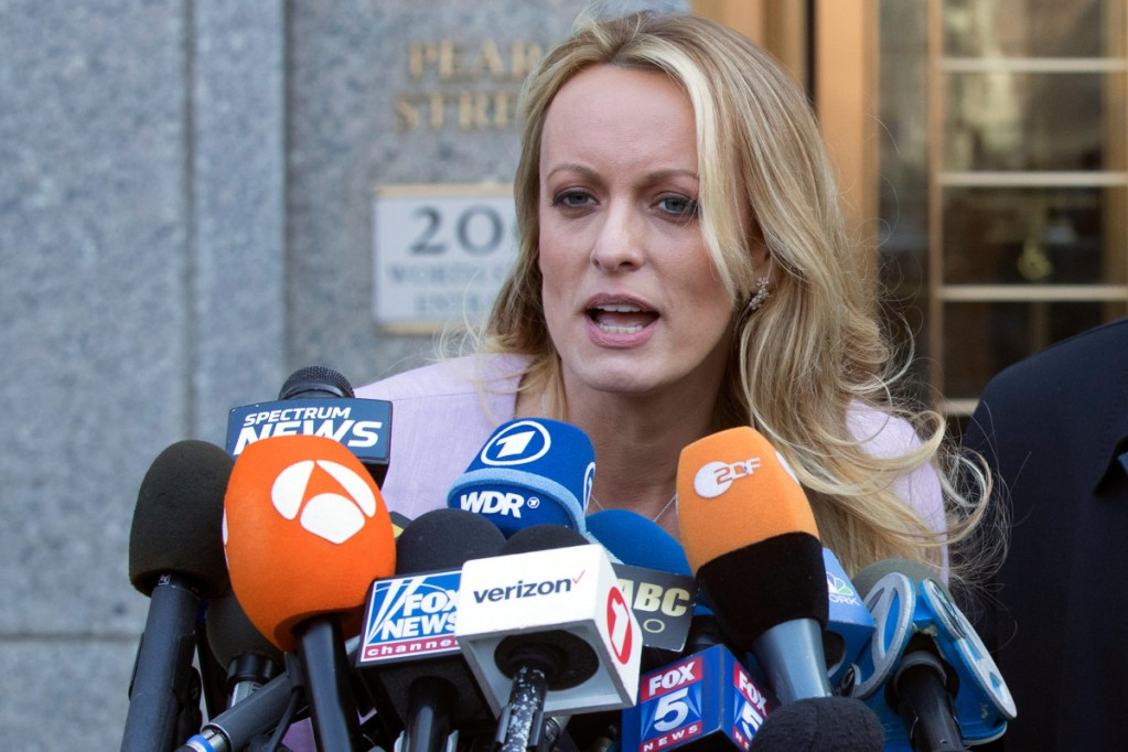 Stormy Daniels' lawsuit is aimed at dissolving a confidentiality agreement that prevents her from discussing an alleged affair with President Trump.