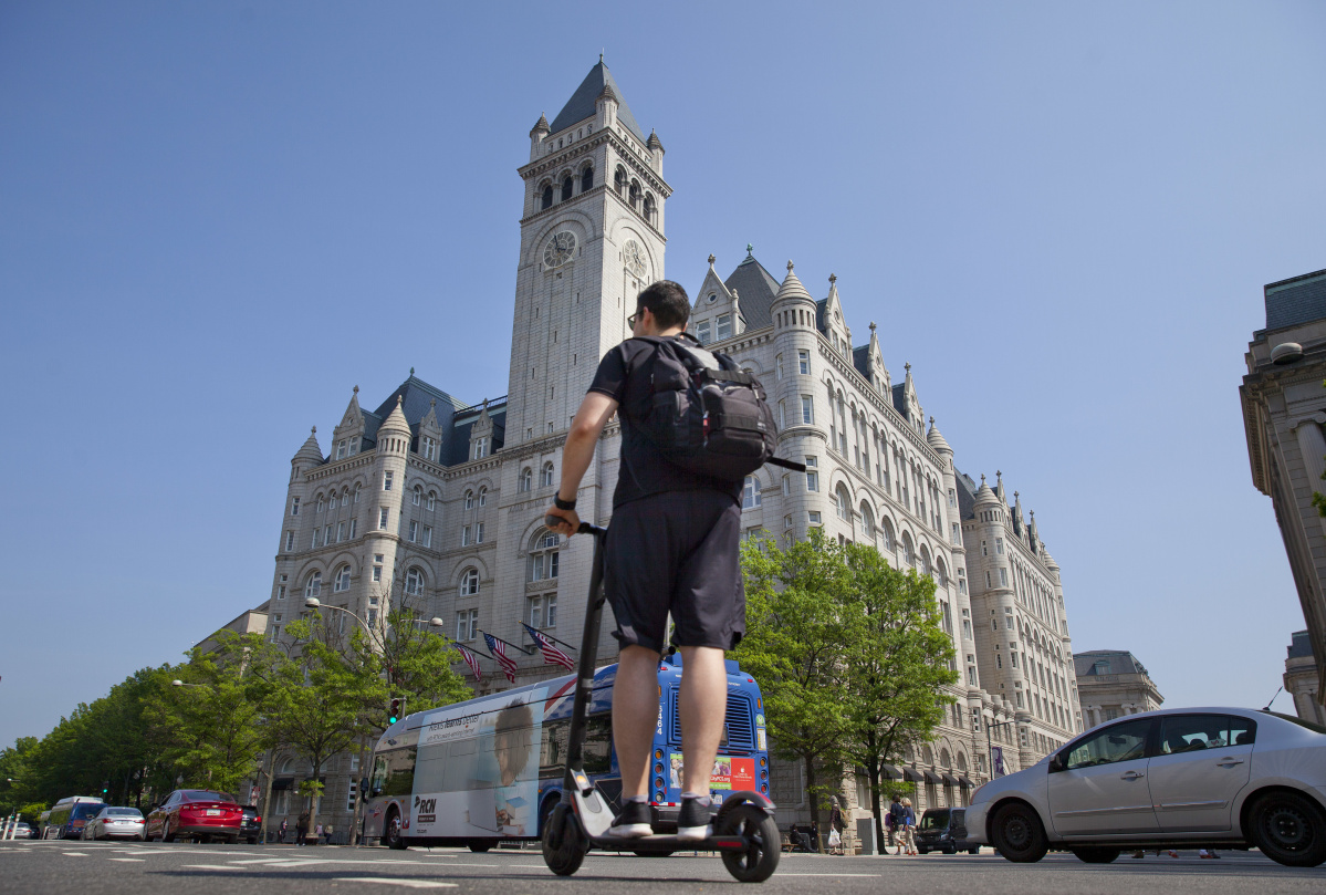 Can scooter rental start-up Bird get riders to operate safety
