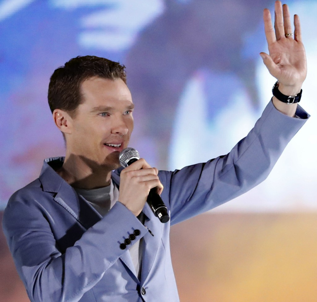 "Food-delivery firm Deliveroo has thanked Benedict Cumberbatch after the ""Sherlock"" star reportedly fought off muggers who were attacking one of its cyclists."