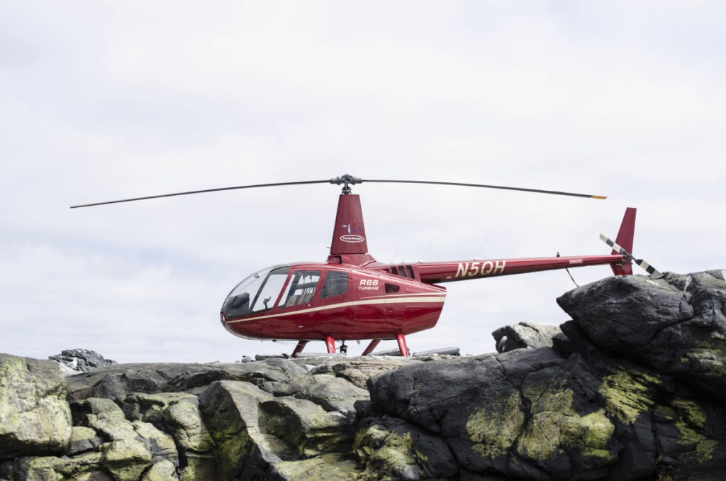 Seacoast Helicopters has started offering regular sightseeing tours of the Casco Bay area.