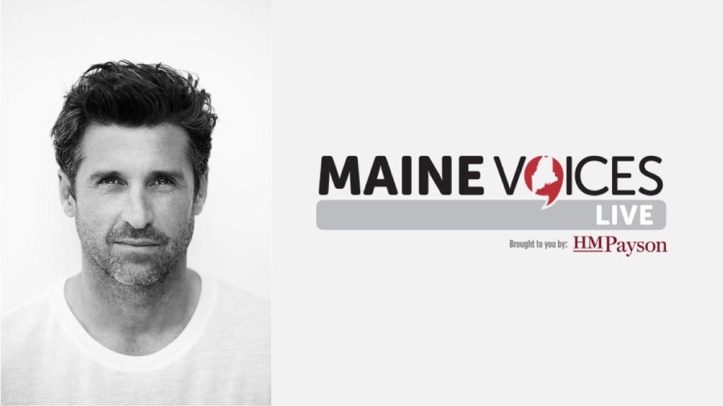 Mainevoices Live With Patrick Dempsey Portland Press Herald