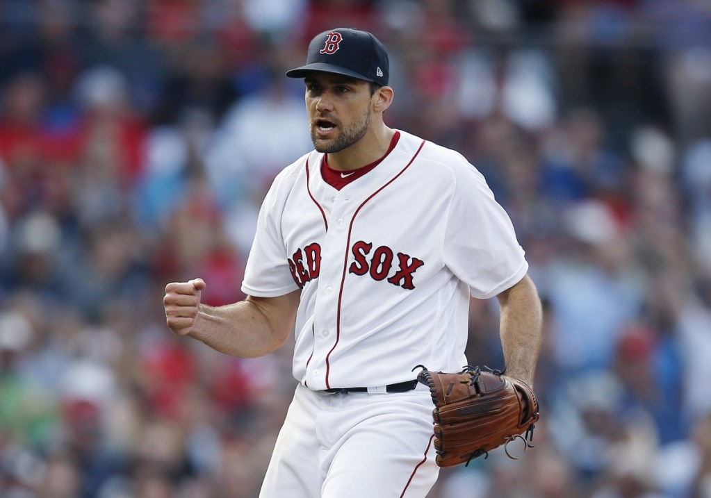 Boston Red Sox pitcher Nathan Eovaldi will start Game 3 of the American League Division Series on Monday against the New York Yankees.