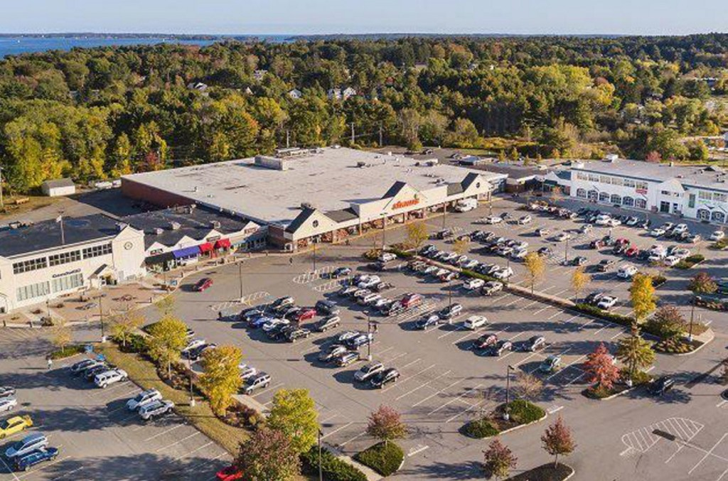 The Falmouth Shopping Center on Route 1.
