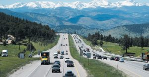 MOTORISTS DRIVE THEIR VEHICLES down Interstate 70 near Evergreen, Colorado. Drivers expect insurance companies to offer digital experiences on par with the likes of Amazon, Uber and Netflix. Insurers are far from meeting those expectations, but they're stepping up their game in the battle for customers. THE ASSOCIATED PRESS
