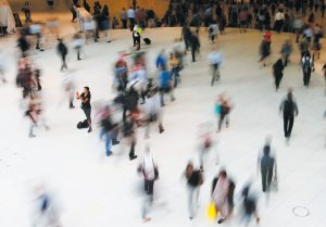 PEOPLE WALK INSIDE THE OCULUS, the transit station at the World Trade Center in New York. Data collection practices of tech firms are increasingly under the microscope. An Associated Press investigation shows that using Google services on Android devices and iPhones allows the search giant to record your whereabouts as you go about your day. AP FILE PHOTO