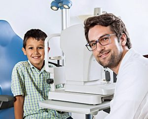 Talk to an eye care professional about how to prevent eye problems if your child plays sports or spends a lot of time in the sun.