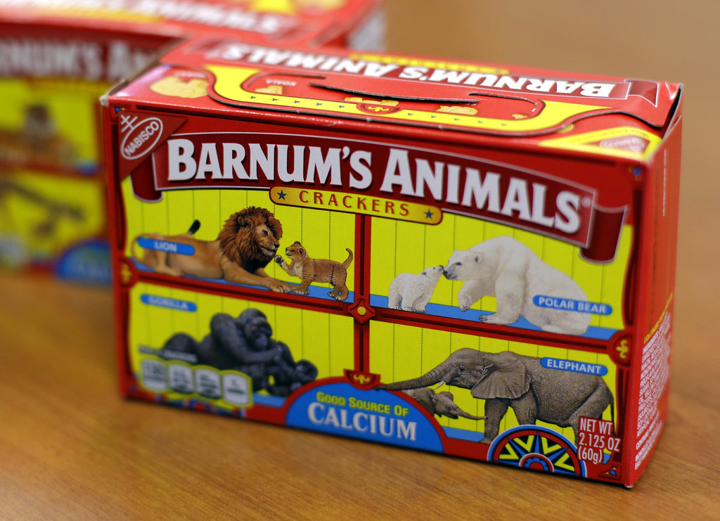 Mondelez International says it has redesigned the packaging of its Barnum's Animals crackers after relenting to pressure from People for the Ethical Treatment of Animals.
