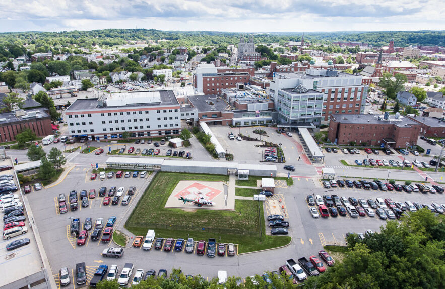 Central Maine Medical Center in Lewiston.