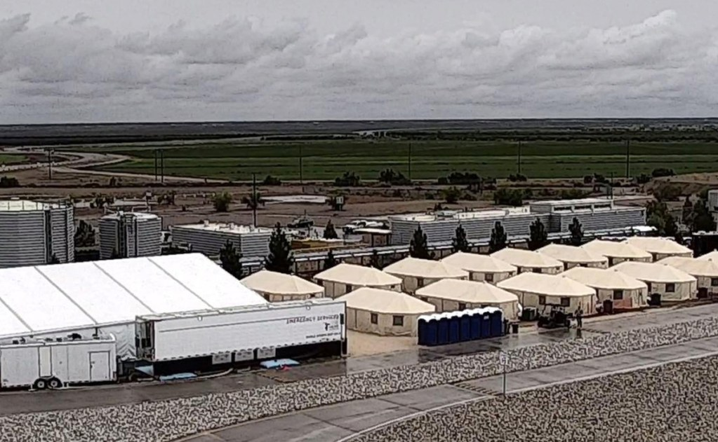 A spokesman for the U.S. Department of Health and Human Services said Tuesday that Tornillo, Texas, facility will be expanded to 3,800 beds from its initial capacity of 360 beds.