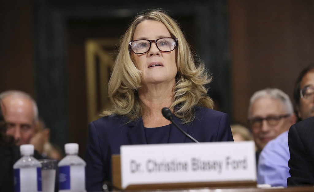 Attorneys for Christine Blasey Ford have asked the FBI why agents haven't contacted her.