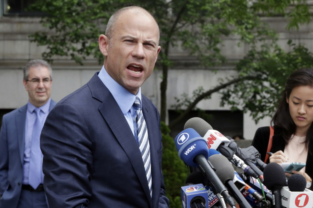 Attorney Michael Avenatti and a client, Julie Swetnick, are being targeted by the Republican chairman of the Senate Judiciary Committee, who wants the Justice Department to investigate statements Swetnick made about a house party that she said was attended by now Supreme Court Justice Brett Kavanaugh in 1982.