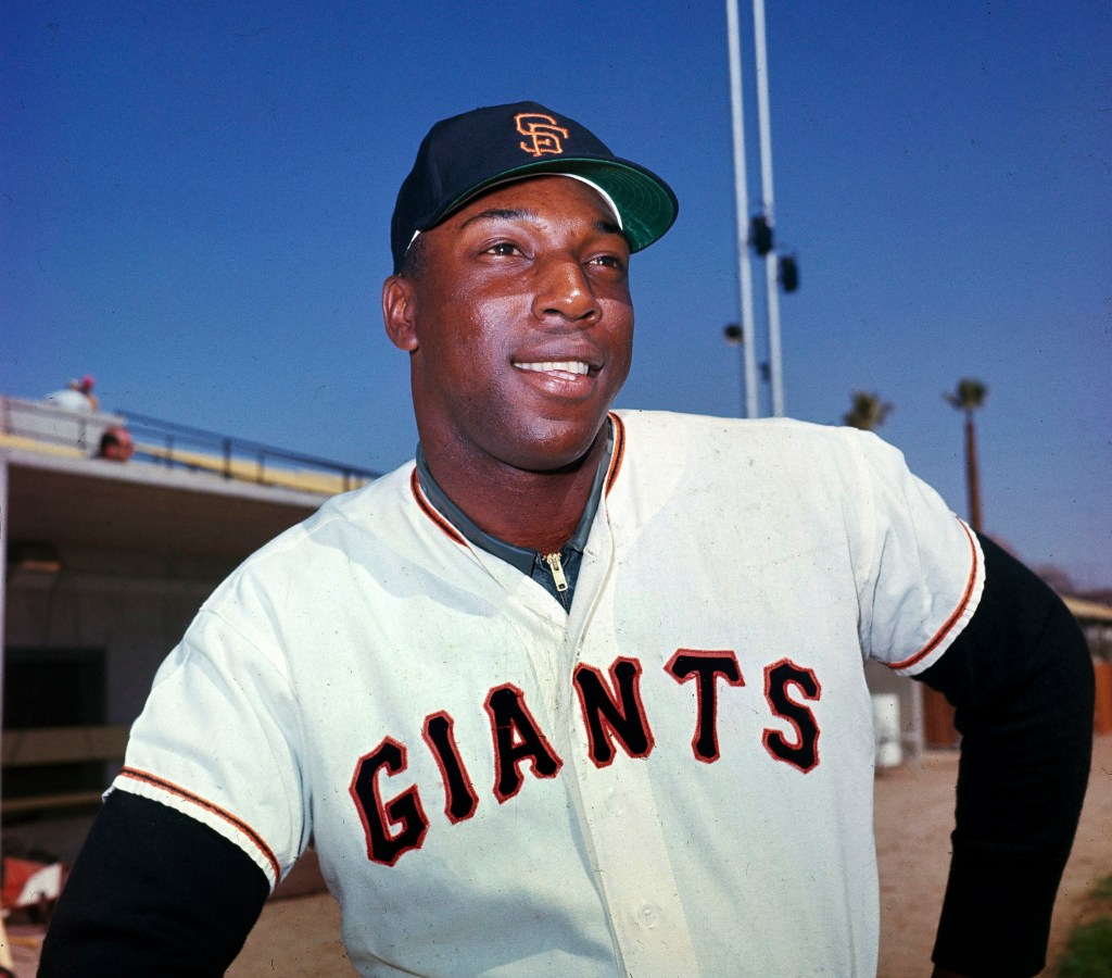 Willie McCovey poses in this April 1964 photo.