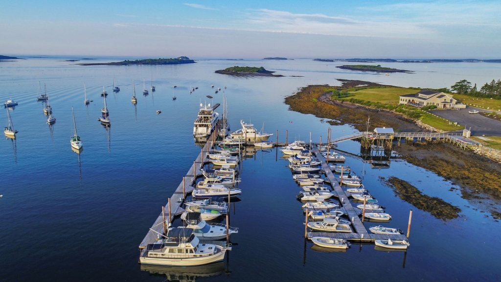The Dolphin Marina and Restaurant in Harpswell has been voted best small marina for 2018 in a survey of boaters by Marinalife magazine.