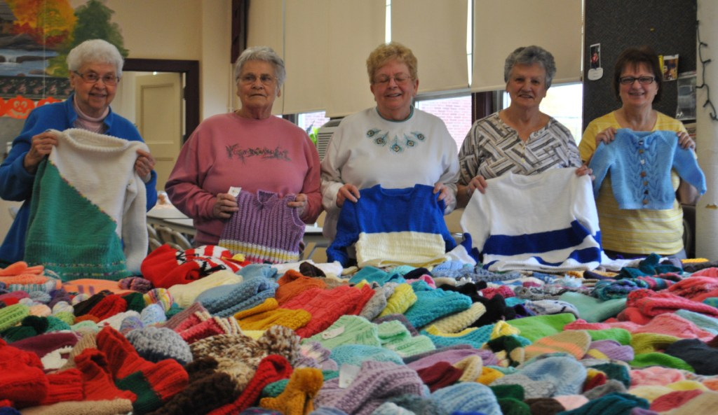 Tightly knit group offers charity for children - Portland Press Herald