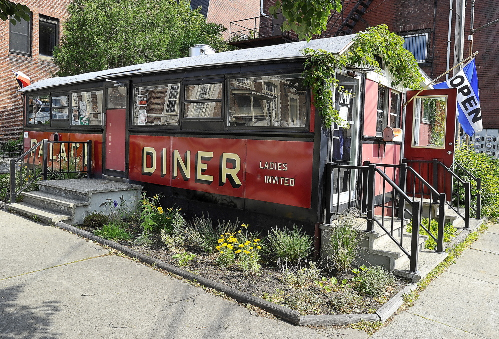 The 15-seat Palace Diner is located in a 1927 Pollard train car parked at 18 Franklin St. in Biddeford.