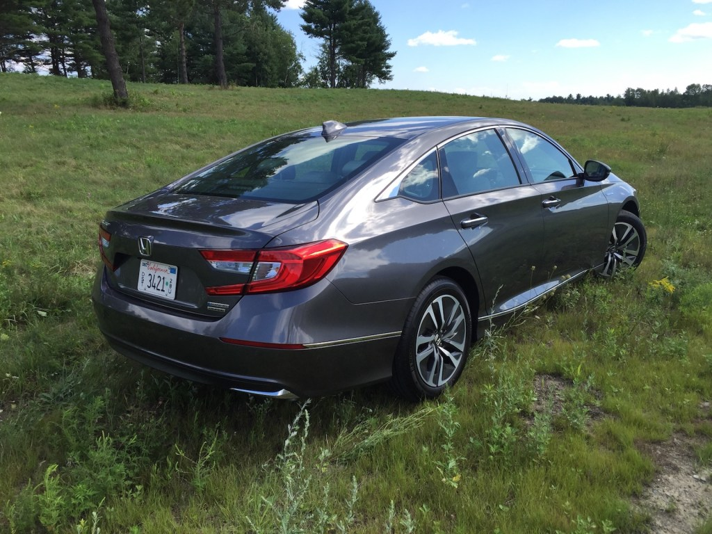 """""""Buyers will find that the Accord Hybrid remains true to the chassis dynamics that make Accord owners happy."""" (Photo by Tim Plouff)"""