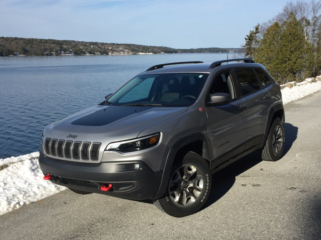On the Road Review: Jeep Cherokee Trailhawk - Portland Press